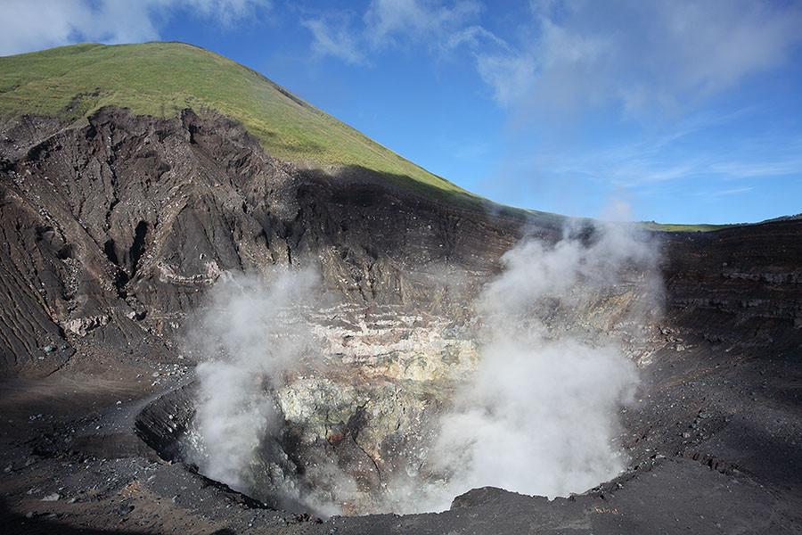 Mount Lokon crater